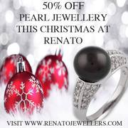 Christmas Offer - 50% off All Pearl Jewellery at Renato Jewellers