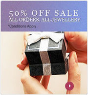 Silver jewelry with 50% OFF