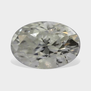 0.15 Carat White Color Oval Shape Loose Diamond