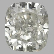 A Cushion cut diamond is an elegant choice
