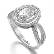 Buy Trendy Cheap Engagement Ring Online