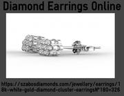 A Wonderfull Pair Of Diamond Earring Online