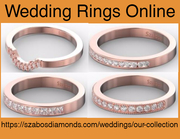 Shop Unique and Affordable Wedding Rings Online