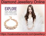 Shop Beautiful Collection of Diamond Jewellery Online