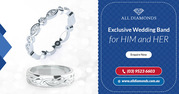 Impressive Range of Diamond Wedding Bands in Melbourne