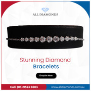 Explore A Wide Range of Diamond Bracelets Online