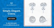 Exquisite Collection of Diamond Earrings in Melbourne
