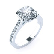 Express Your Feelings with Halo Diamond Rings in Melbourne