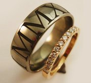 Propose in Panache with Diamond Wedding Bands in Melbourne